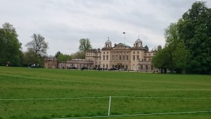 Badminton House - reiten vor berühmter Kulisse